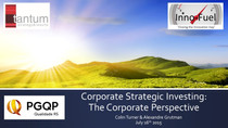 Inno-Fuel's Contribution on Corporate Strategic Investing & Start-up Acceleration @ PGQP in
