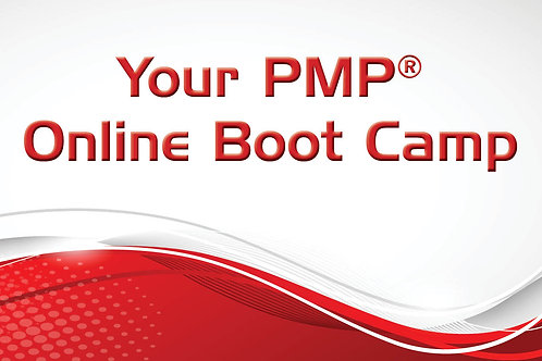 Your Project Management Professional (PMP)® Online Boot Camp