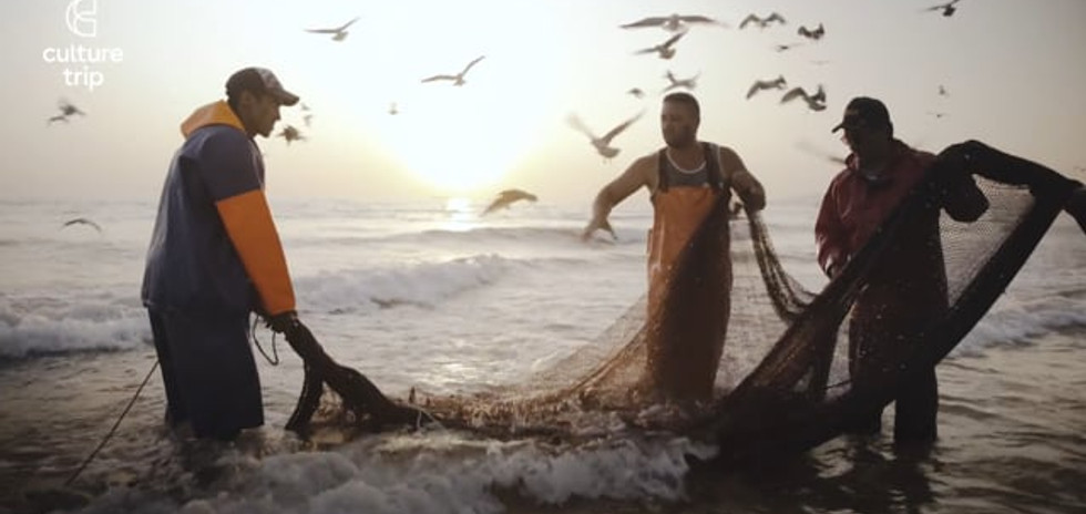 Arte Xávega Fishermen