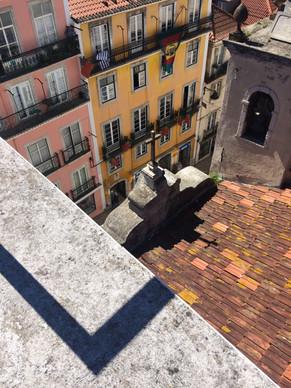 Church rooftop (Chiado district, Lisbon)