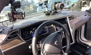 Inside the Tesla Model X