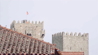 The medieval castle of Montalegre, dating from the 13th century