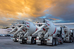 cement mixers car with beautiful sky.jpg