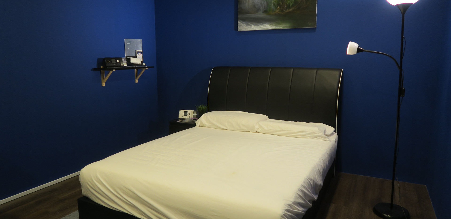 The Air Station Sleep Experience Room