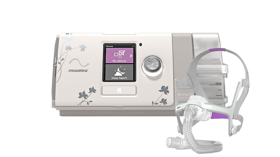 ResMed AirSense 10 AutoSet CPAP For Her with AirFit N20 Nasal Mask