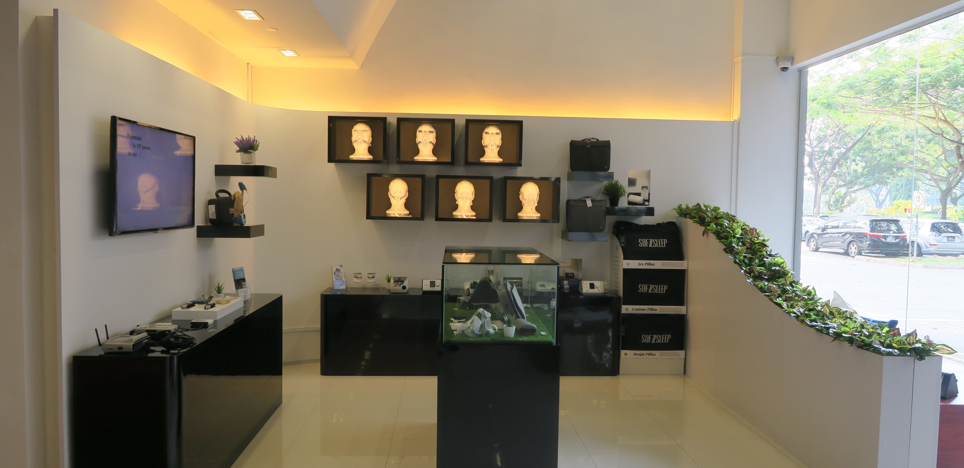 The Air Station Showroom