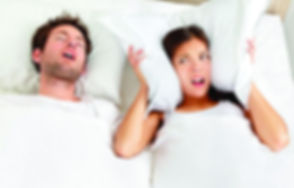 couple slipping in bed