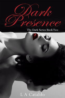 Book Cover, Dark Presence, Book 2 in The Dark Series