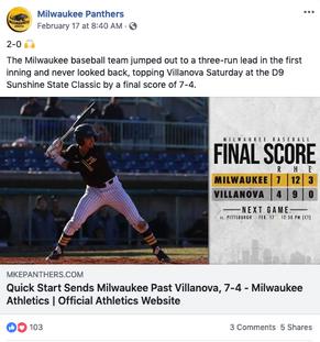 Baseball Article