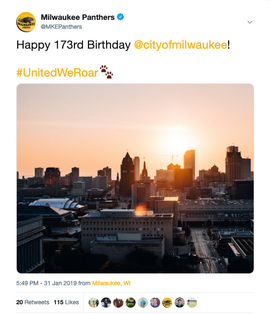 Happy Birthday Milwaukee