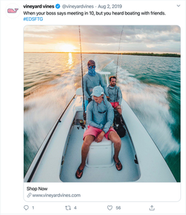 Boating w/friends