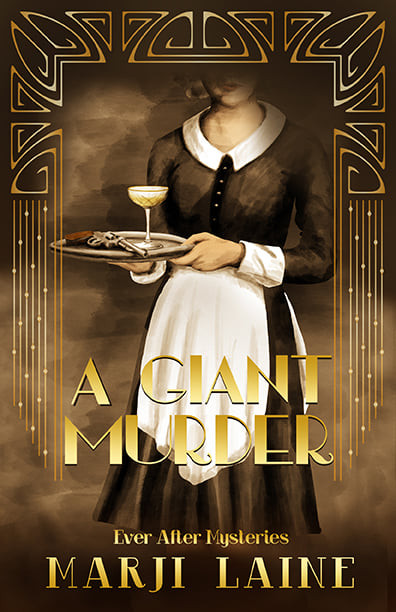 Final cover - A GIANT MURDER