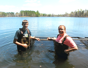 Volunteers from WI River Academy