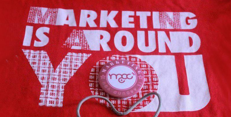 Marketing's around you!