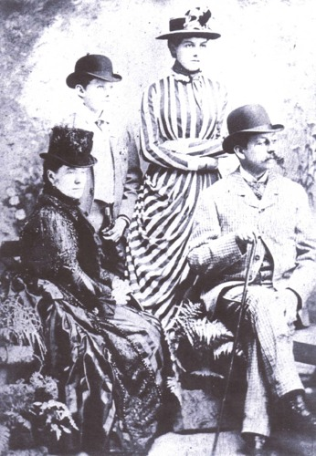 Henry J R Osborn and Family