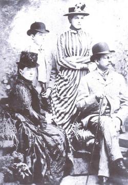 Henry J R Osborn and Family