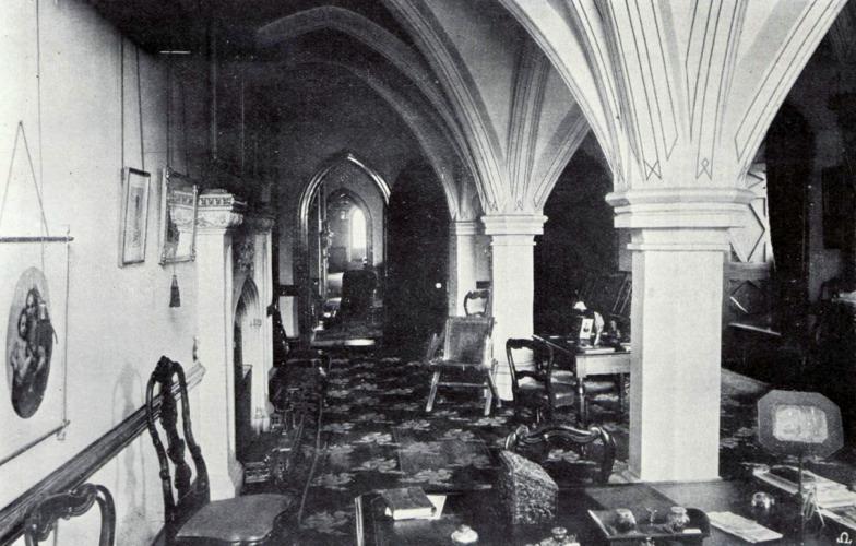 Baronet's Study-1900