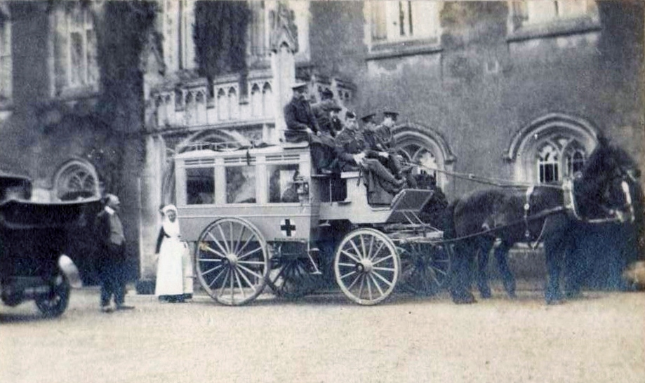 Red Cross Ambulance WW1