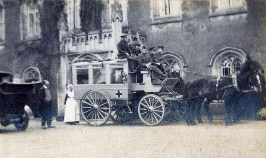 Red Cross Ambulance WW1