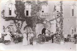 Return from honeymoon- 7th Baronet 1903