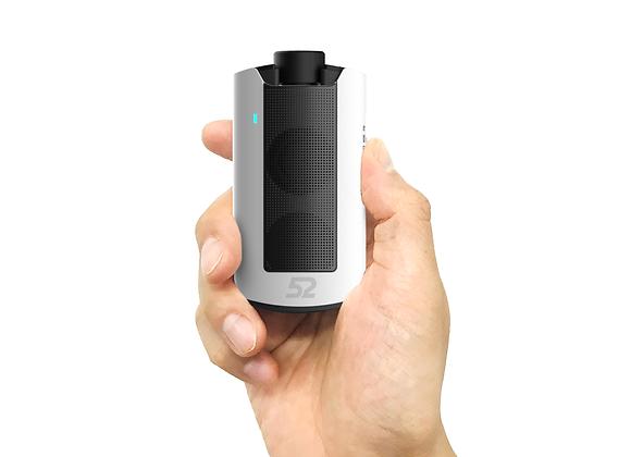 52 Speaker (White) - Black Grill