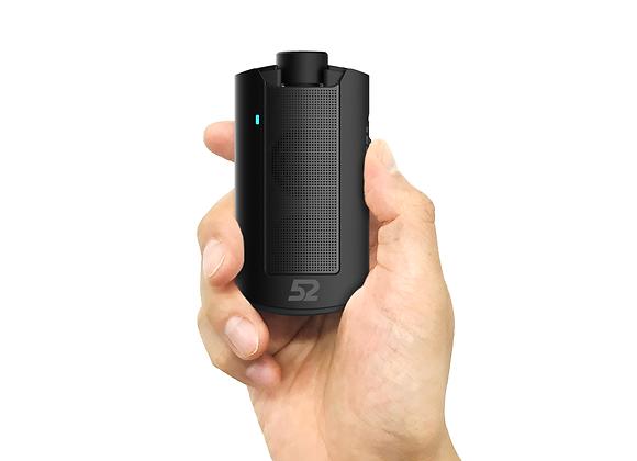52 Speaker (Black) - Black Grill