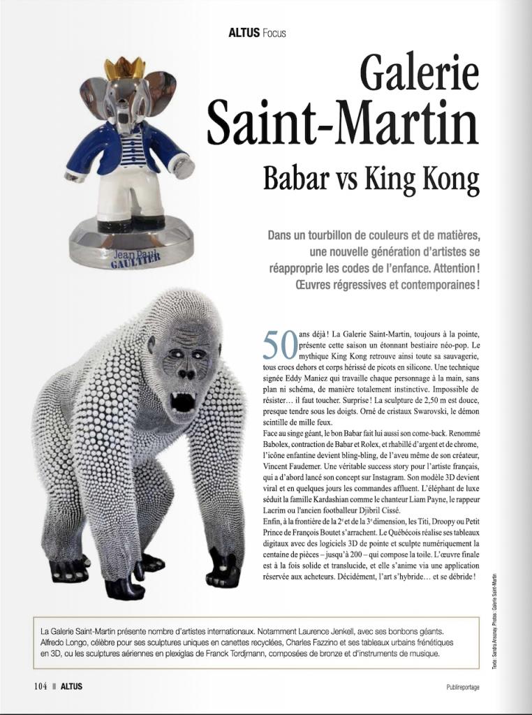 Eddy Maniez dans le magazine Altus - 2