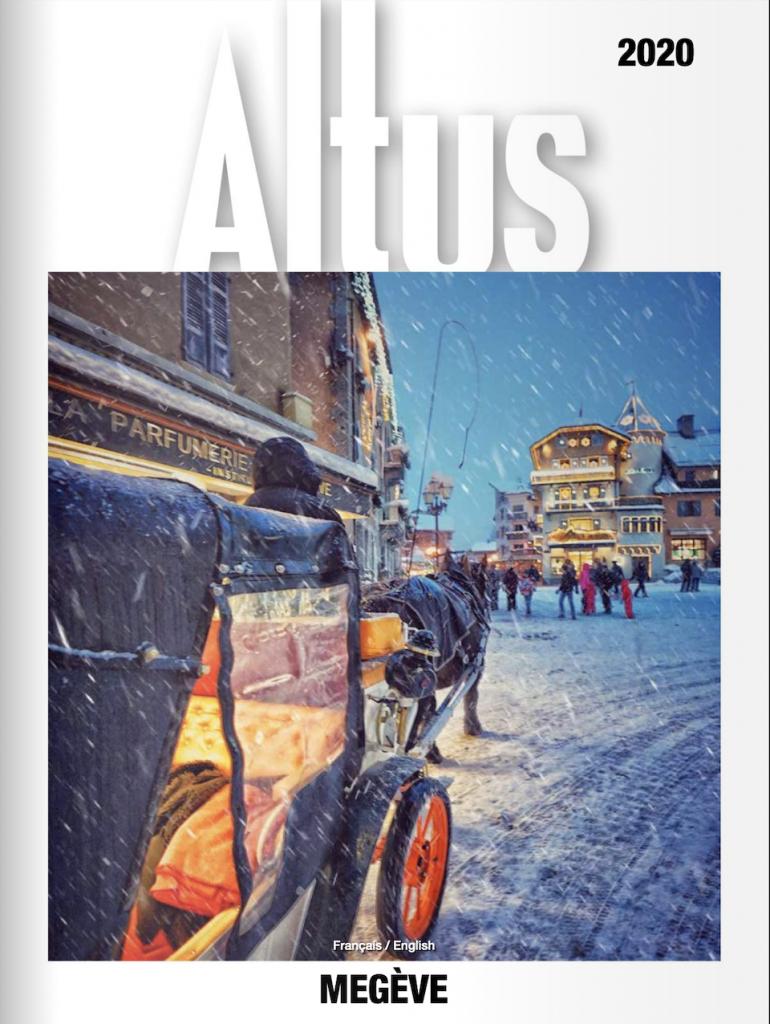 Eddy Maniez dans le magazine Altus - 1