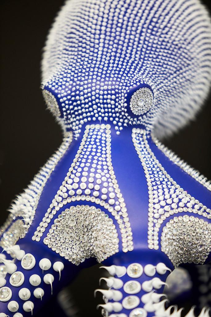 Poulpe Bleu Mat