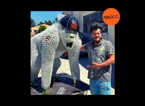 Le gorille rappeur d'Eddy Maniez - Eddy Maniez's rapper gorilla