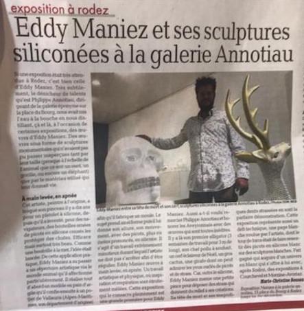 Article on Eddy Maniez