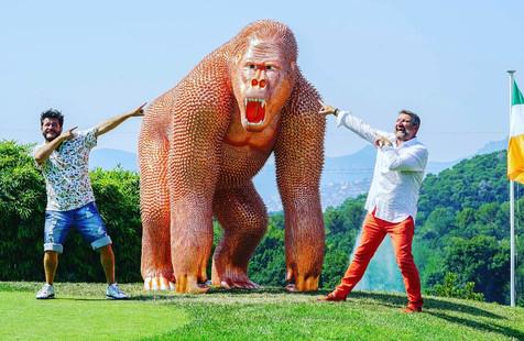 Gorille Cuivre Golf