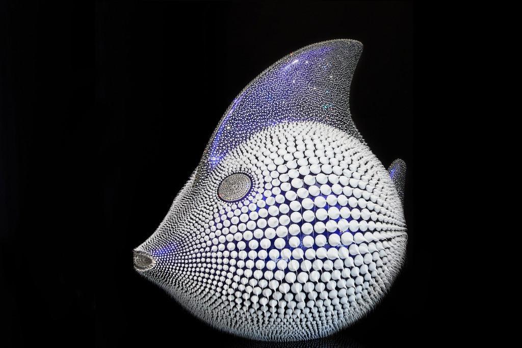 Poisson Lune Bleu Caméléon