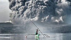 Taal Eruption and Climate Change