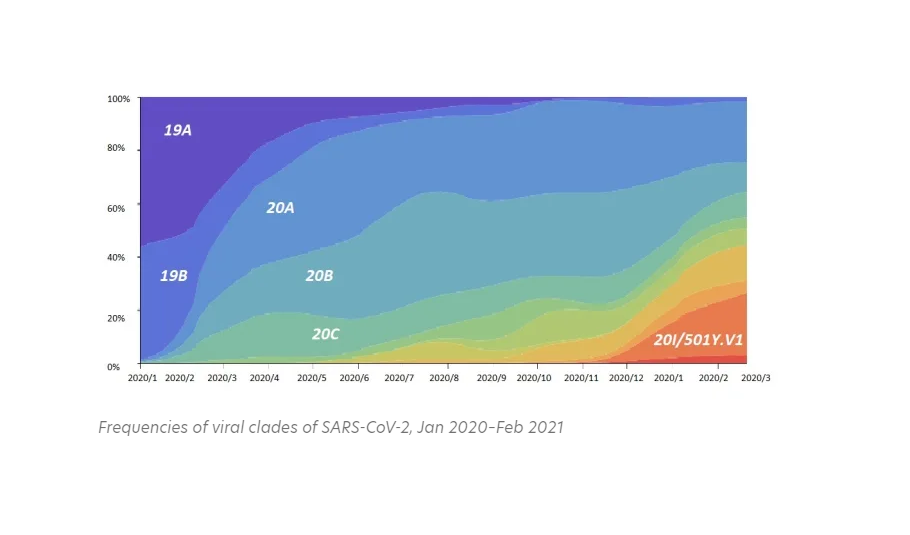 Global Vaccine Race against Time and Variants