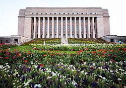 Dr Steinbock in Finnish Parliament