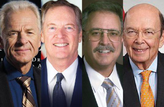 Steel Men Behind  US Trade War