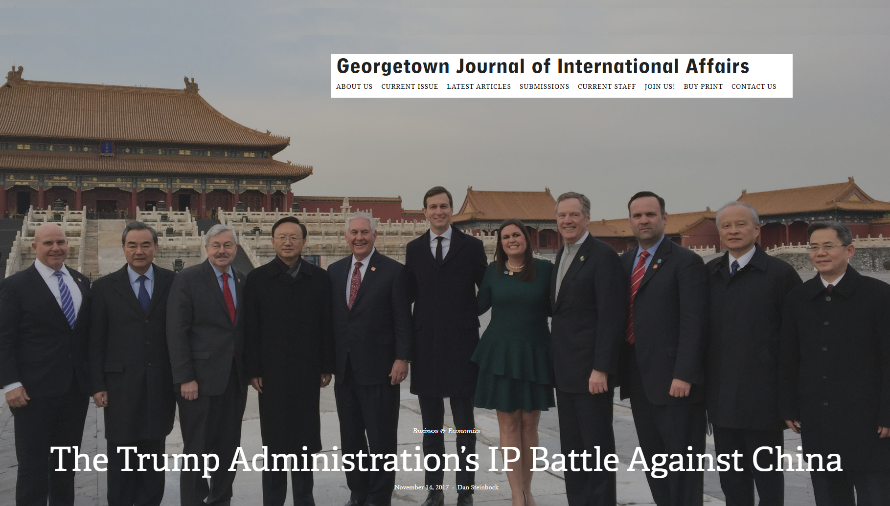 The Trump IP War Against China