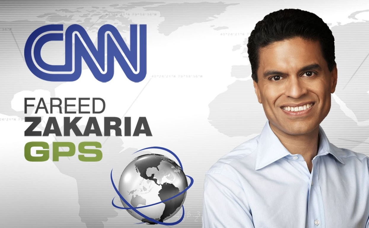 CNN's Zakaria Picks Steinbock Brief