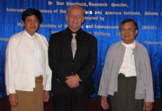 Briefings in Myanmar