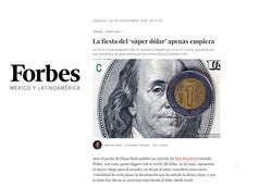 La fiesta del 'súper dólar'
