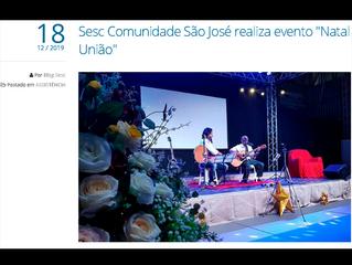 """Sesc Comunidade São José realiza evento """"Natal União"""""""