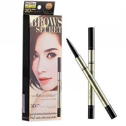 泰國 Mistine 3D Brows Secret brow Set 02