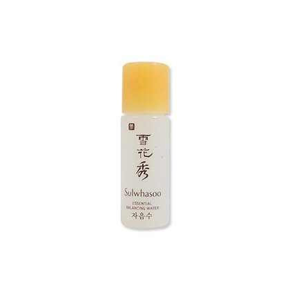 Sulwhasoo essential balancing water smaple 5ml 試用裝(10支)