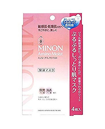 Japan Minon Amino Moist Mask氨基酸保濕面膜