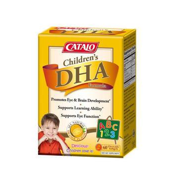 CATALO 家得路兒童DHA #香橙味 60粒