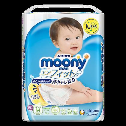Moony 學習褲 M 58片