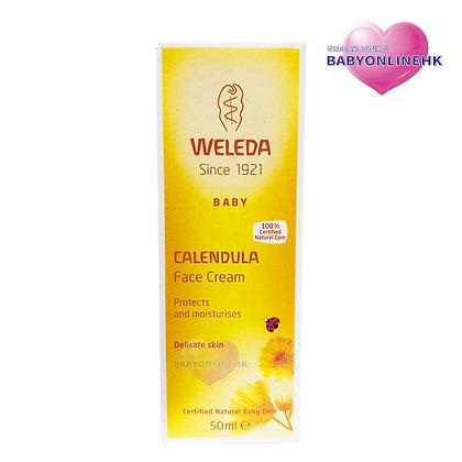 Weleda - 有機金盞花嬰兒潤膚面霜 50ml