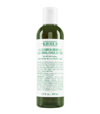 Kiehl's Cucumber Herbal Alcohol-Free Toner 青瓜植物精華爽膚水250ML