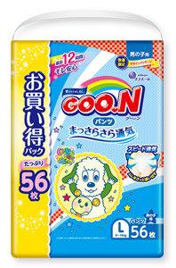 Goo.n 大王學習褲 L56片 (男)